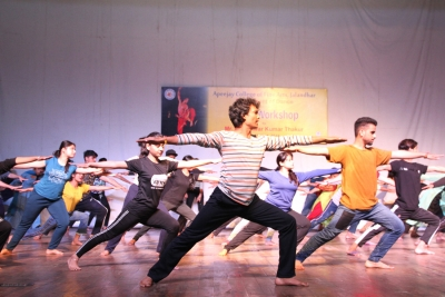 6 Day Workshop by Department of Dance